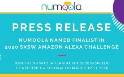 NUMOOLA SELECTED TO PRESENT NEW AMAZON ALEXA SKILL AT SXSW